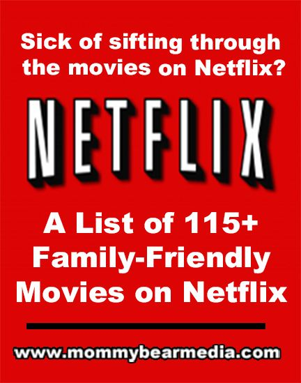 """We created this list of the best family-friendly and Christian movies on Netflix streaming so you can find a good Netflix movie."""