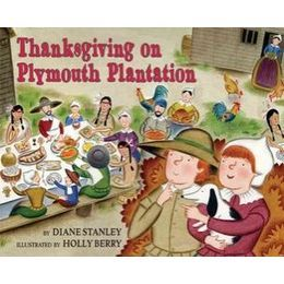 """time travel"" activity and project for kids to learn about the first thanksgiving and a really accurate book to use as well to learn about the holiday and history.  (Maybe next year for us.)"