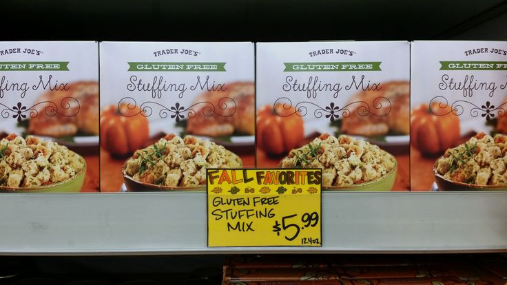 Trader Joe's Gluten Free Stuffing Mix Now everyone can partake in all of the festivities!!! Tjexperience.wordpress.com