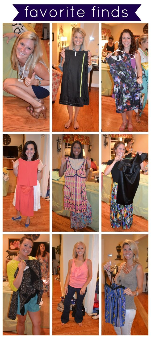Event + Style Spotting: The Swap Shop * Summer Clothes Swap