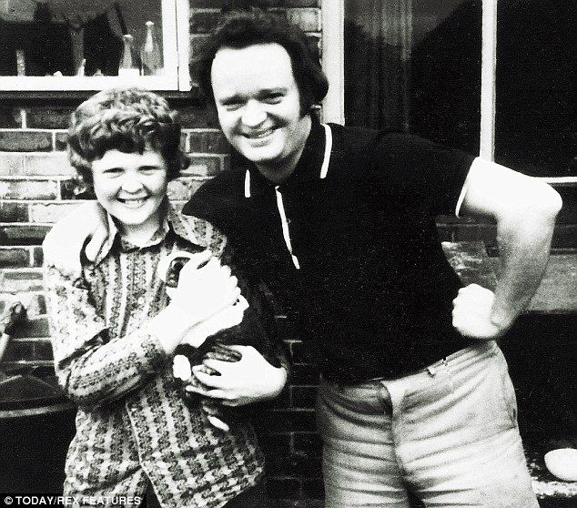 'My dad was working full-time. His friends advised him to put me in a home but my dad – God bless him – wouldn't do it. My dad was my world,' said Mick Hucknall (pictured aged eight with his father Reg)