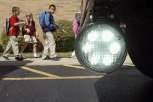 Marion Community Schools is in the middle of a pilot program.  Gardian Angel® School Bus Safety Lighting System.  www.GardianAngelLLC.com  #SchoolBusSafety