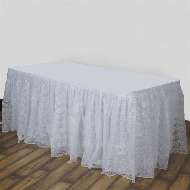 25 best ideas about table skirts on tutu