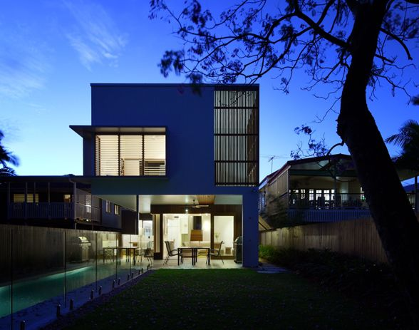 Hawthorne House, Brisbane by Arkhefield. Photography: Scott Burrows