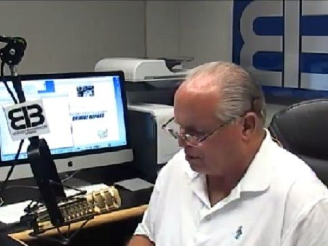 On his Thursday radio show, conservative talk show host Rush Limbaugh offer his theory as to why the political left Democrats in power, particularly the Obama administration, have downplayed the threat of Ebola in the United States.