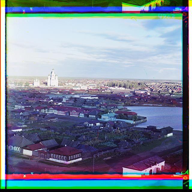 Цветные фотографии России 100 лет