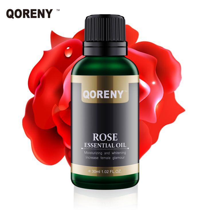 30 ML Rosa Naturale Essenziale Olio Idratante Sbiancamento cura della pelle olio Essenziale Composto con vettore di semi D'uva olio La Cura Della Pelle