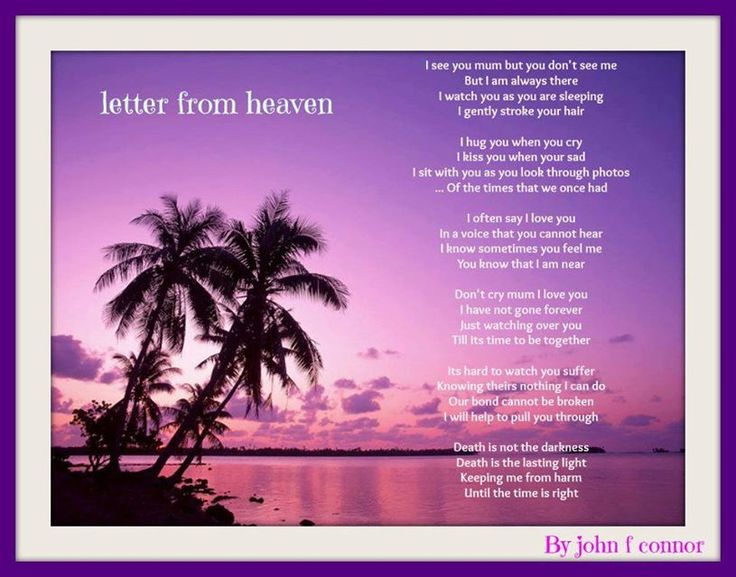 127 best Daddys with Angels. Poems and verses #2 images on ...