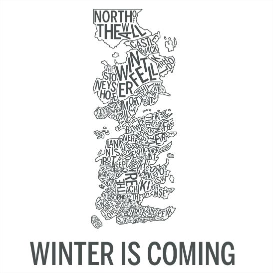 Winter is coming grafit