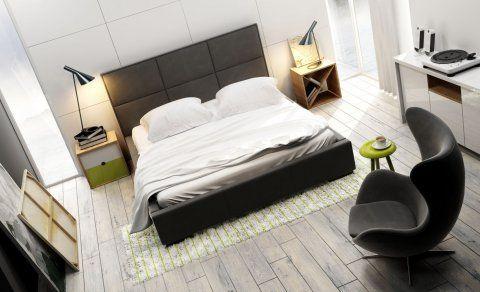 NEW design - łóżka tapicerowane