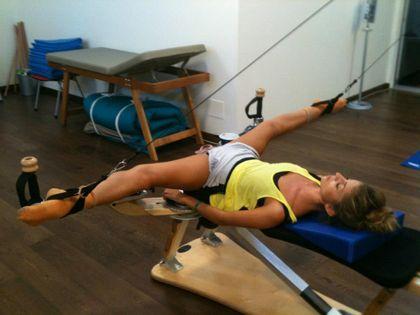 Durante lo Stage Internazionale Montecatini Danza 2015 dal 25 al 30 agosto potete prendere anche lezioni di Gyrotonic con Sabrina Scatizzi per esaltare la vostra eccellenza fisica e rinforzare la vostra tecnica!!! www.montecatinidanza.it