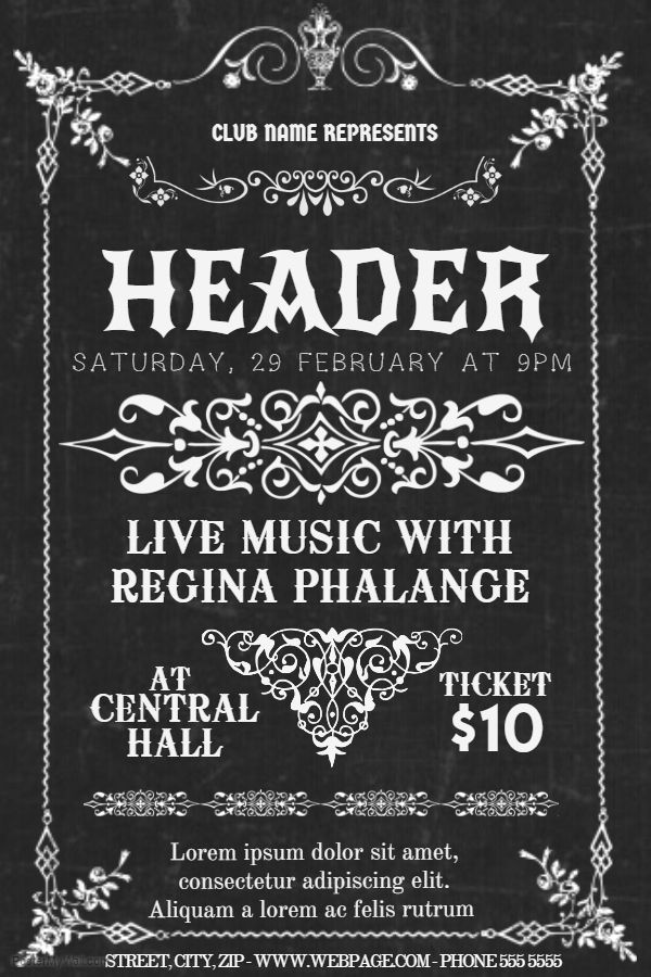 56 Best Band And Concert Posters Images On Pinterest | Concert