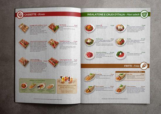 Bicu menus on Behance