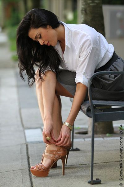 aliyah o'brien | Aliyah O'Brien, My Sidewalk Shoot With…