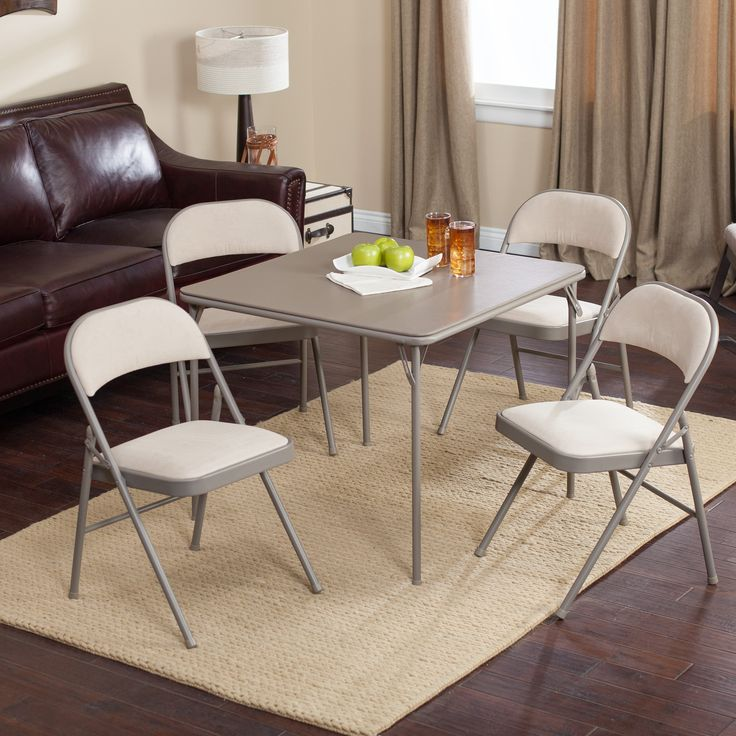 25 best ideas about card table and chairs on pinterest card table makeover card table redo. Black Bedroom Furniture Sets. Home Design Ideas
