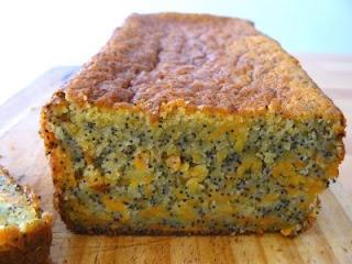 cocina de mercado: Queque de Zanahoria, Naranja y Amapola
