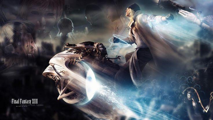Final Fantasy XIII УС 13 Видео Игры Плакат 12x21 20x35 дюймовый Шелковый Ткань Холста Стены Искусства декор На Заказ Печати YX677