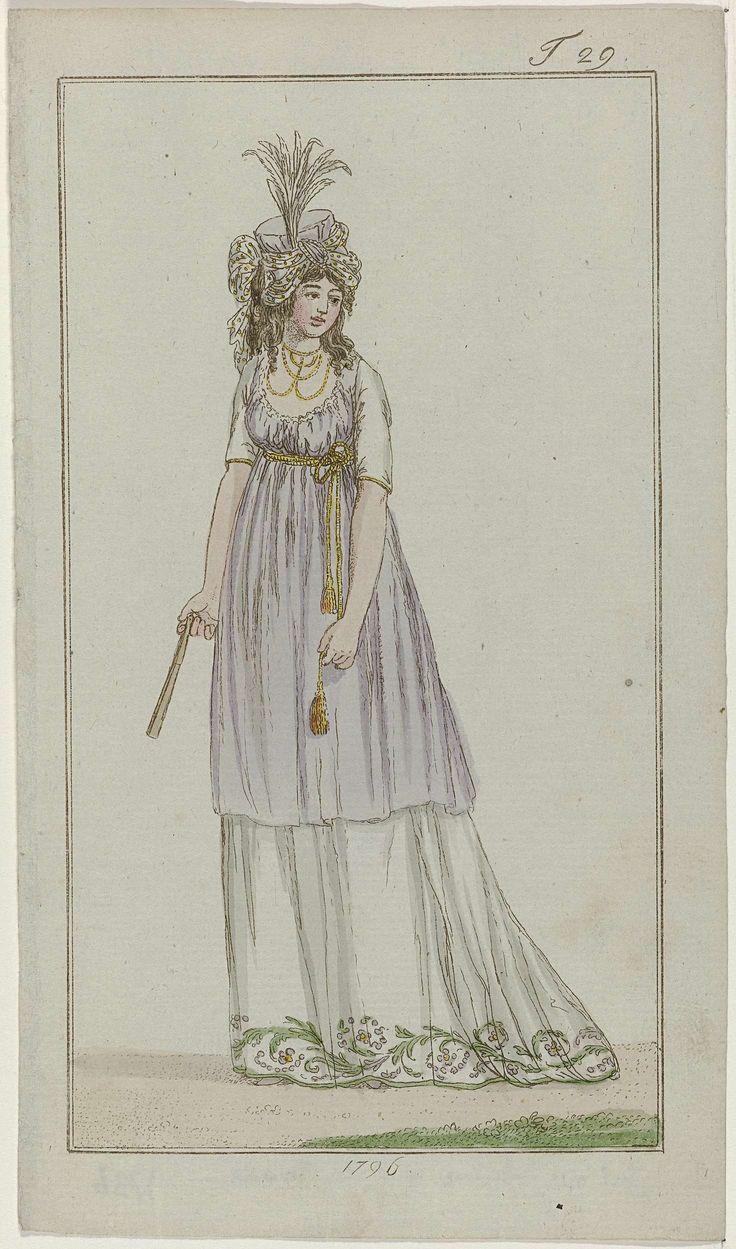 Journal des Luxus und der Moden, 1796, T 29, Georg Melchior Kraus, 1796