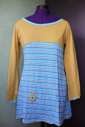 Préparer la garde robe d'automne... Tuniques en jersey et molleton