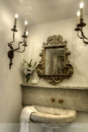 Gorgeous Powder Room . . .