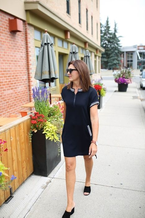 T-shirt dresses for the win.  #t-shirtdresses #fashionover40 #everydaestyle #fabover40