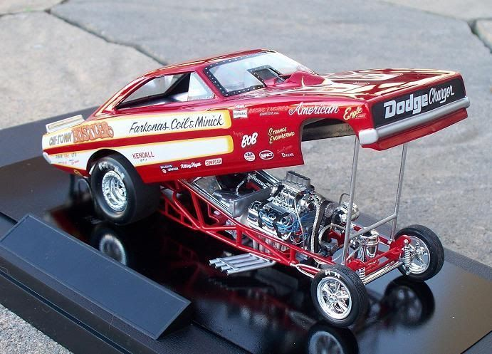 Awesome Cars fast 2017: Chi Town Hustler Funny Car (the new one) - Drag Racing Models  Scale auto