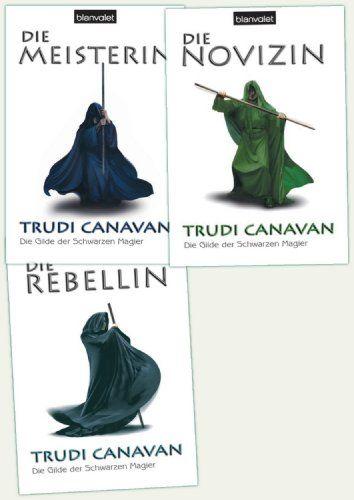 Die Gilde der Schwarzen Magier, Band 1: Die Rebellin / Band 2: Die Novizin / Band 3: Die Meisterin von Trudi Canavan http://www.amazon.de/dp/4444304324/ref=cm_sw_r_pi_dp_V-imwb0Q57WW0