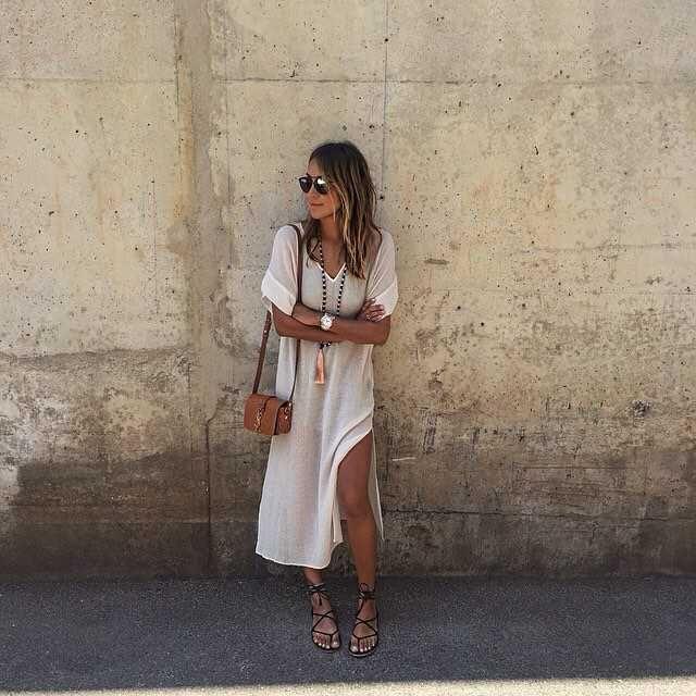 Summer wear  / Sincerely Jules in the Jessie dress. #myaritzia #NowhereEverywhere
