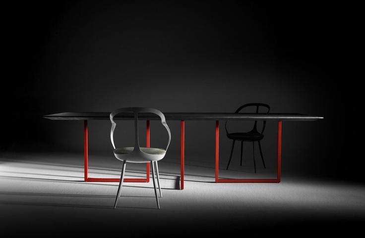 Gazelle e Mollina - Table and easychair by Park Associati
