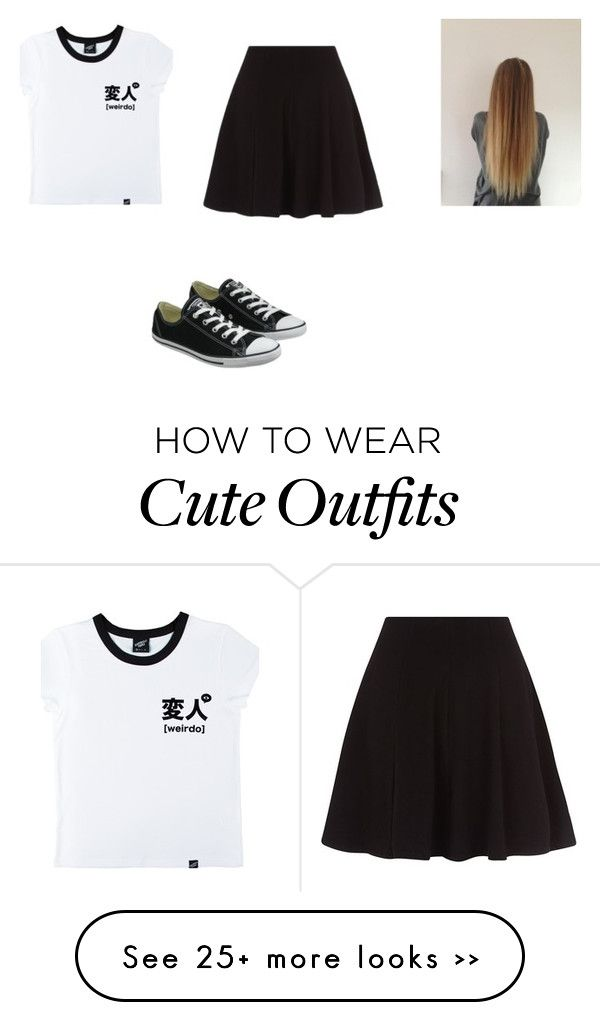 """""""Casual outfit"""" by jess2k20 on Polyvore featuring Illustrated People and Converse"""