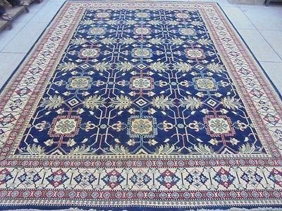 Rustic All Over New Kazak Area Rugs Fine Quality Original Hand Knotted Rug 10