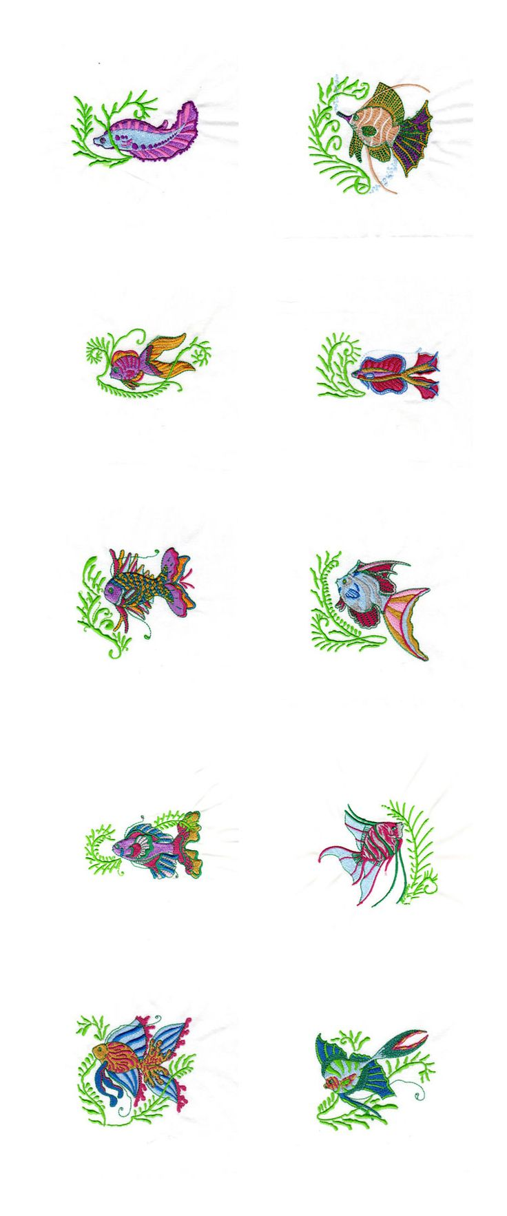 79 best embroidery images on pinterest machine embroidery colorful tropical fish 10 designsall fit the hoop embroidery designs bankloansurffo Gallery