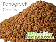 Fenugreek seeds have an important health effect of lowering blood glucose levels. Laboratory studies have found that eating the nutritious spice helps reduce blood sugar of type 2 diabetes patients. It contains 4-hydroxy isoleucine, an amino acid that promotes secretion of insulin in the body.