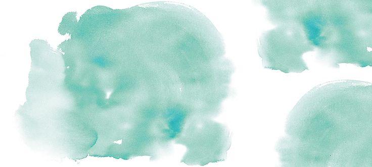 Un nuage d'aquarelle vert. Papiers peints collection 2015 Scenolia. #papierpeint #lepapierpeint