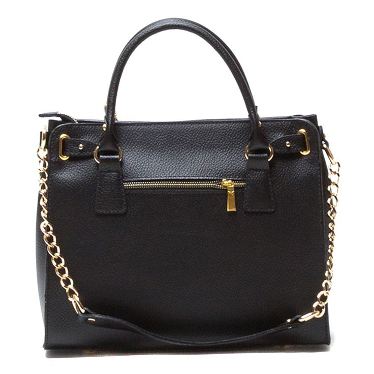 Roberta M Leather Handbag   Black by Roberta M on Brands Exclusive