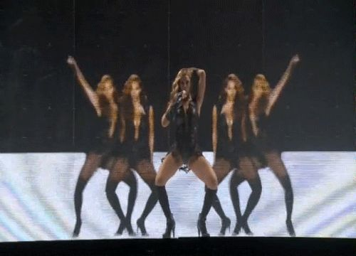 And they all danced ferociously: | The 33 Fiercest Moments From Beyoncé's HalftimeShow