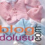 kız erkek bebek kapşonlu hırka ve yelek modelleri