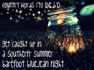 Country life.Lights, Fireflies, Oneday, Inspiration, Quotes, Typewriters Keyboard, Country Lyrics, Mason Jars, Summer Night