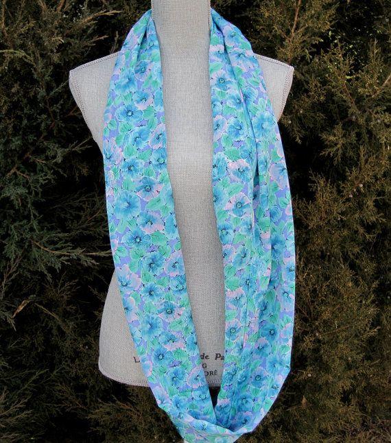 infinity scarf loop scarf tube scarf eternity by FootlessDesigns, $40.00