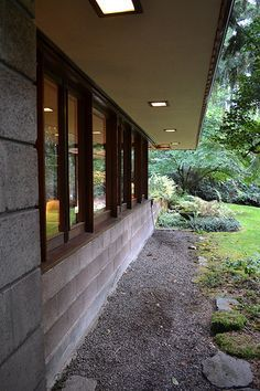 Frank Lloyd Wright's Barnes House | Exquisite Usonian House … | Flickr