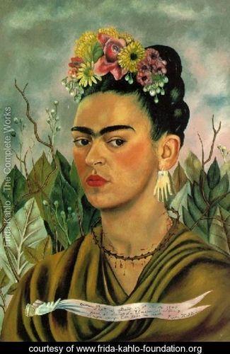 Self Portrait II - Frida Kahlo - www.frida-kahlo-foundation.org