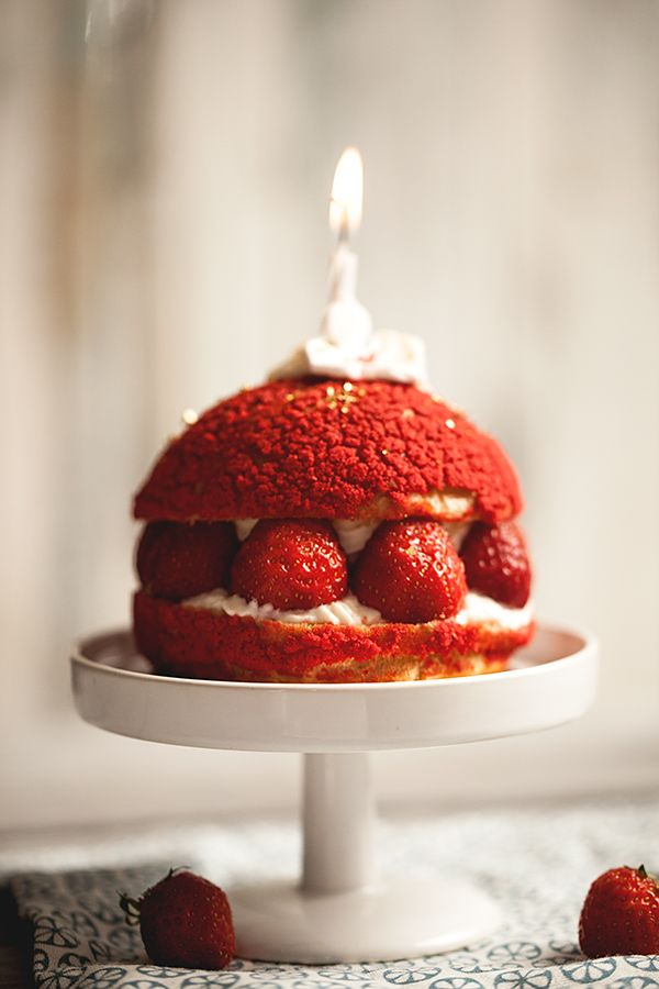 Chou fraise, rhubarbe et citron vert – Crokmou