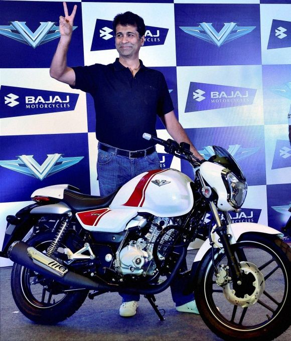 Bajaj Auto unveils new bike made from warship metal