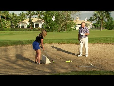 School of Golf: Hit it out of the Bunker | Golf Channel - YouTube