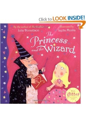 Book, The Princess and the Wizard by Julia Donaldson