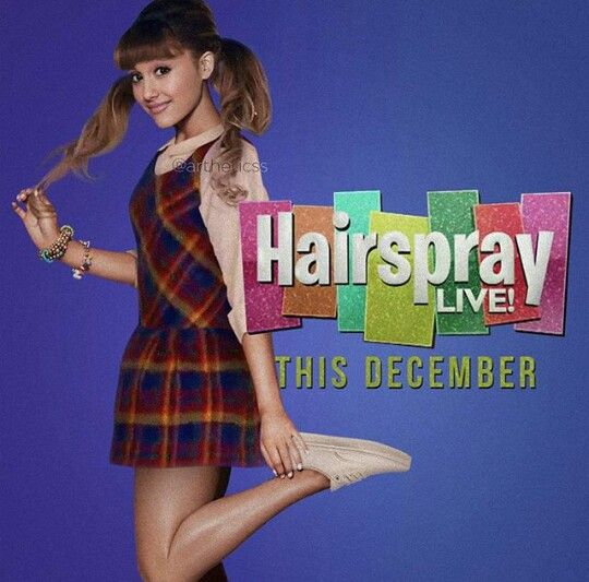 ARIANA GRANDE HAIRSPRAY LIVE EDIT #KIMILOVEE  #THEWIFE  PLEASE DON'T CHANGE MY CAPTIONS OR YOU'LL BE BLOCKED!