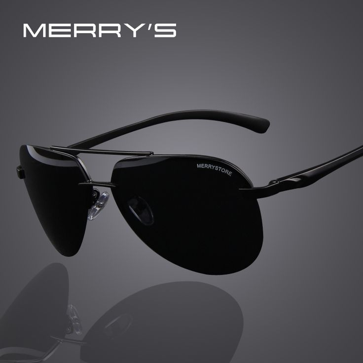 MERRY'S Brand Men ⑤ 100% Polarized Aluminum Alloy Frame ٩(^‿^)۶ Sunglasses Fashion Men's Driving Sunglasses High quality 7 ColorMERRY'S Brand Men 100% Polarized Aluminum Alloy Frame Sunglasses Fashion Men's Driving Sunglasses High quality 7 Color