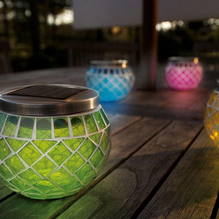 affordable gardman solar mosaic lanterns with solar lanterns for garden - Outdoor Solar Lanterns