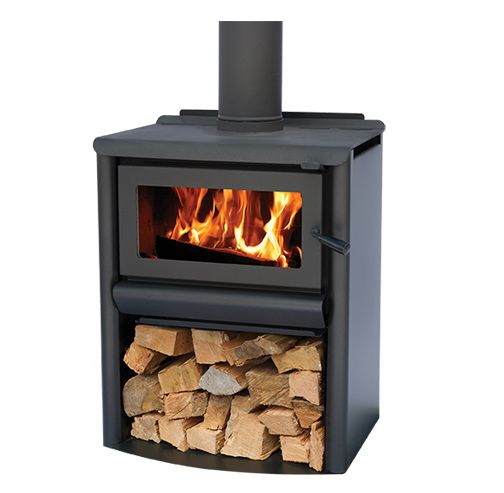 R5000 - Woodstacker Freestanding Wood Burner - This is our lounge room fire
