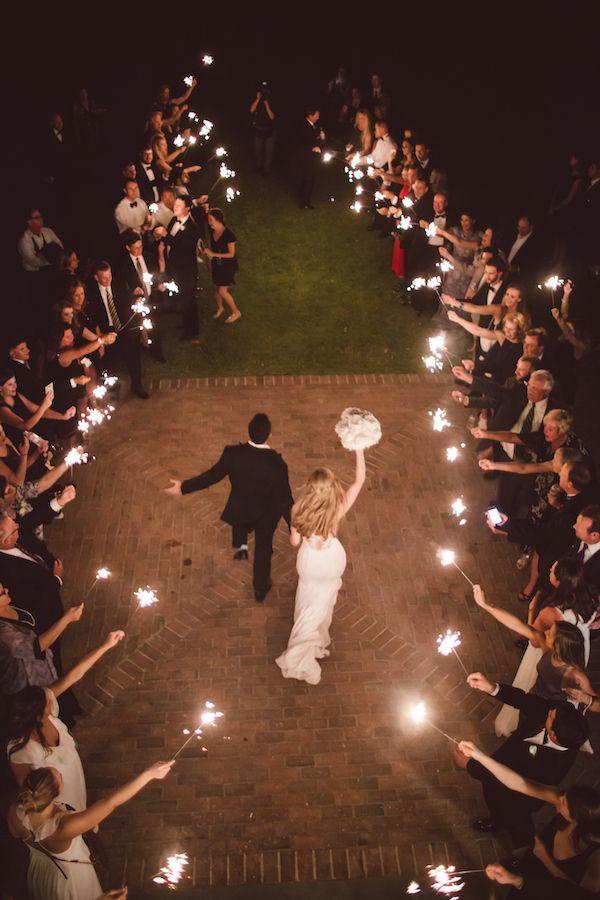 Courtney & Richard's send-off at their Lowndes Grove Plantation wedding | Charleston, SC | Photo by Amelia & Dan Photography